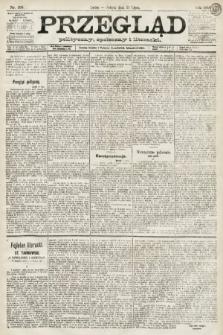Przegląd polityczny, społeczny i literacki. 1891, nr168