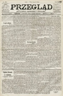 Przegląd polityczny, społeczny i literacki. 1891, nr170