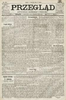 Przegląd polityczny, społeczny i literacki. 1891, nr172
