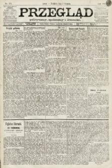 Przegląd polityczny, społeczny i literacki. 1891, nr175