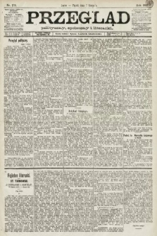 Przegląd polityczny, społeczny i literacki. 1891, nr179