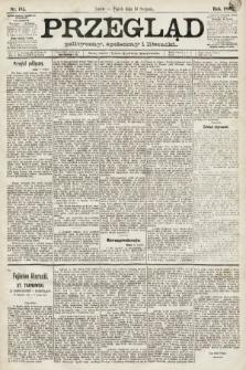 Przegląd polityczny, społeczny i literacki. 1891, nr185