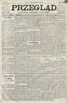Przegląd polityczny, społeczny i literacki. 1891, nr189