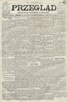 Przegląd polityczny, społeczny i literacki. 1891, nr190