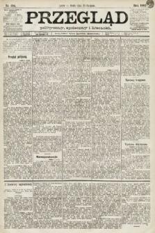 Przegląd polityczny, społeczny i literacki. 1891, nr194