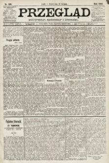 Przegląd polityczny, społeczny i literacki. 1891, nr196
