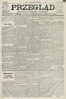 Przegląd polityczny, społeczny i literacki. 1891, nr197