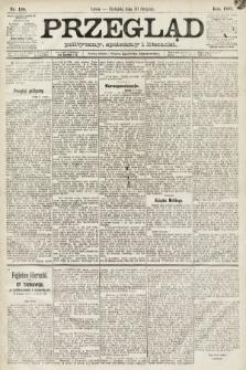 Przegląd polityczny, społeczny i literacki. 1891, nr198