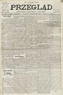 Przegląd polityczny, społeczny i literacki. 1891, nr200