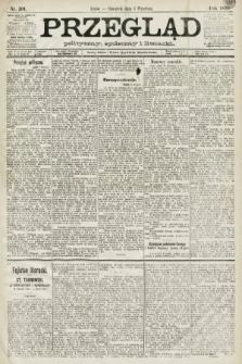 Przegląd polityczny, społeczny i literacki. 1891, nr201