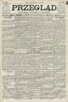 Przegląd polityczny, społeczny i literacki. 1891, nr209