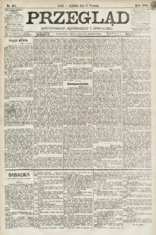 Przegląd polityczny, społeczny i literacki. 1891, nr212