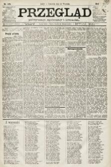 Przegląd polityczny, społeczny i literacki. 1891, nr218