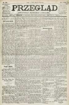 Przegląd polityczny, społeczny i literacki. 1891, nr219
