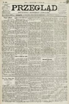 Przegląd polityczny, społeczny i literacki. 1891, nr235