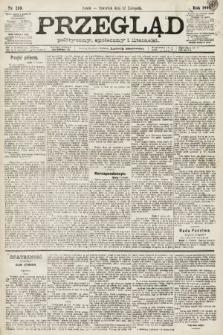 Przegląd polityczny, społeczny i literacki. 1891, nr259