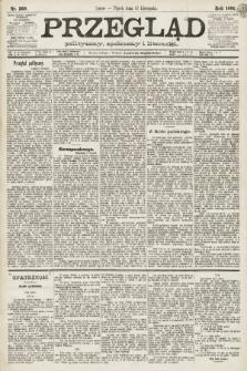 Przegląd polityczny, społeczny i literacki. 1891, nr260