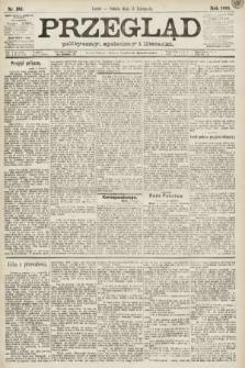 Przegląd polityczny, społeczny i literacki. 1891, nr261