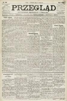 Przegląd polityczny, społeczny i literacki. 1891, nr262