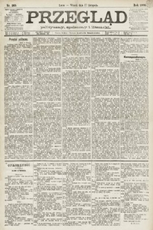 Przegląd polityczny, społeczny i literacki. 1891, nr263