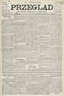 Przegląd polityczny, społeczny i literacki. 1891, nr269