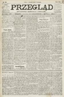 Przegląd polityczny, społeczny i literacki. 1891, nr271