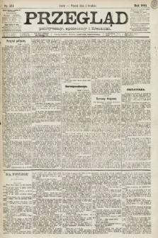 Przegląd polityczny, społeczny i literacki. 1891, nr275
