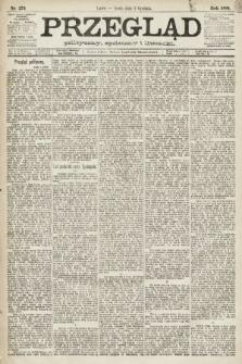 Przegląd polityczny, społeczny i literacki. 1891, nr276
