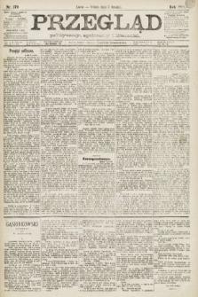 Przegląd polityczny, społeczny i literacki. 1891, nr279