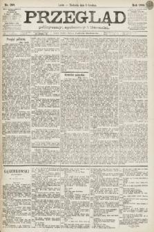 Przegląd polityczny, społeczny i literacki. 1891, nr280