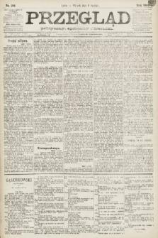 Przegląd polityczny, społeczny i literacki. 1891, nr281