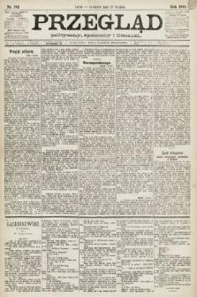 Przegląd polityczny, społeczny i literacki. 1891, nr282