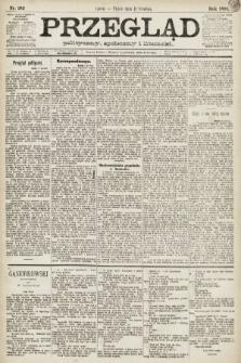Przegląd polityczny, społeczny i literacki. 1891, nr283