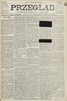 Przegląd polityczny, społeczny i literacki. 1891, nr286
