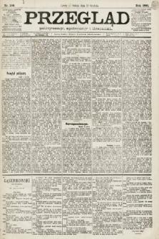 Przegląd polityczny, społeczny i literacki. 1891, nr290