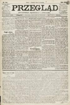 Przegląd polityczny, społeczny i literacki. 1891, nr294