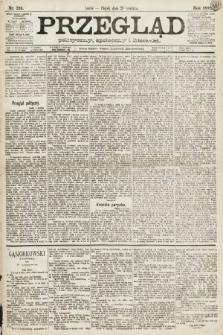 Przegląd polityczny, społeczny i literacki. 1891, nr295