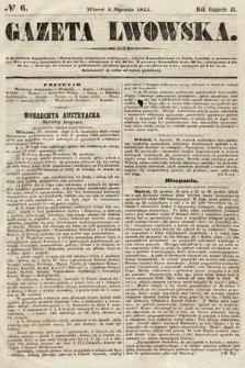 Gazeta Lwowska. 1855, nr6