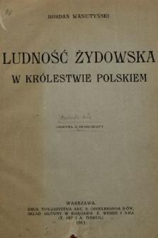 Ludność żydowska w Królestwie Polskim