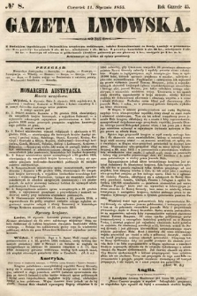 Gazeta Lwowska. 1855, nr8
