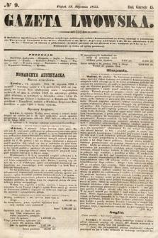 Gazeta Lwowska. 1855, nr9