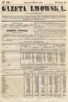 Gazeta Lwowska. 1855, nr16