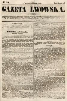 Gazeta Lwowska. 1855, nr21