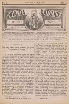 Gwiazda Katolicka : czasopismo religijno-naukowe, społeczne i beletrystyczne. 1890, nr 9