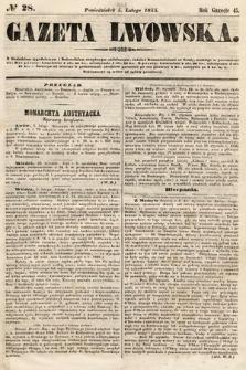Gazeta Lwowska. 1855, nr28