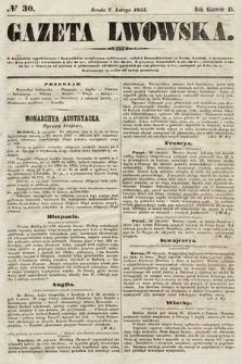Gazeta Lwowska. 1855, nr30