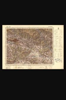 Mapa taktyczna Polski : pas 51, słup 31 : Szczawnica