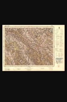 Mapa taktyczna Polski : pas 51, słup 34 : Lesko