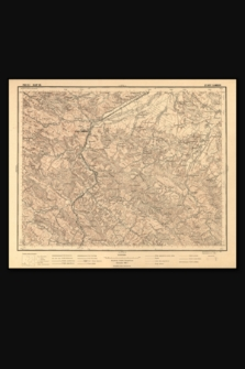 Mapa taktyczna Polski : pas 51, słup 36 : Stary Sambor