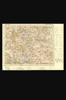 Mapa taktyczna Polski : pas 44 : słup 26 : Rychtal i Byczyna (Pitschen)